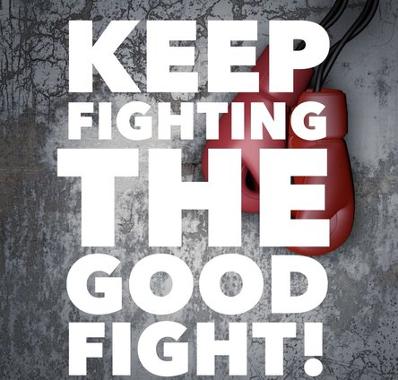 Keep fighting the good fight! 20 ways educators can promote the success of students - Brad Currie
